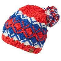 Helly Hansen Knitted Beanie One Size Red Blue White