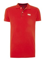 Helly Hansen Crew Classic Polo Red