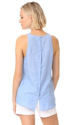 Soft Joie Dany Top Chambray Delave