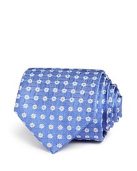 Bloomingdale's The Men's Store At Dot In Flower Classic Tie 100 Exclusive Purple