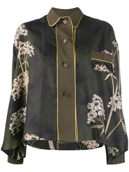 F.R.S For Restless Sleepers Floral Print Buttoned Blouse 60