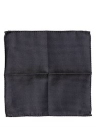 Dsquared Polka Dot Silk Jacquard Pocket Square