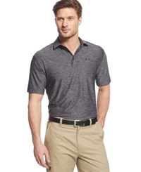 Under Armour Men's Playoff Performance Heather Golf Polo Carbon Heather