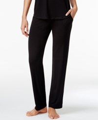 Alfani Knit Pajama Pants Only At Macy's Classic Black