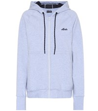 Lndr Synergy Cotton Blend Hoodie Blue
