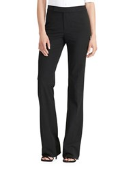 Lauren Ralph Lauren Stretch Twill Flared Pants Black