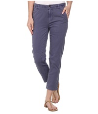 Volcom Stand Up Pant Vintage Navy Women's Casual Pants Beige