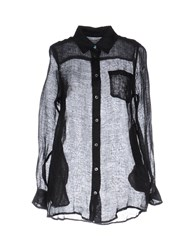 Solid And Striped Shirts Black