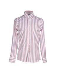 Massimo Rebecchi Shirts Shirts Men Red