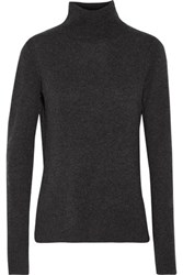 Line Serena Cashmere Turtleneck Sweater Charcoal