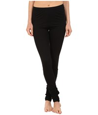 Yummie Tummie Leggings W Shirring Black Women's Casual Pants