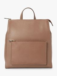 Modalu Hensley Leather Backpack Brown