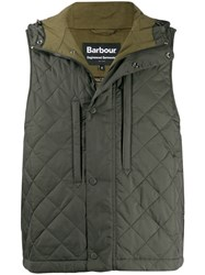 Barbour Quilted Gilet Green