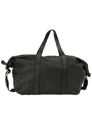 Guidi Barrel Shoulder Bag Black