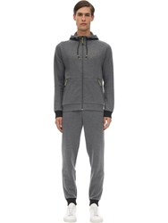 Emporio Armani Natural Ventus Sweatshirt And Sweatpants Grey