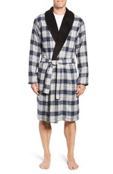 Ugg Kalib Robe Navy Plaid