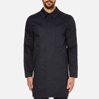A.P.C. Men's Ville Mac Dark Navy Blue