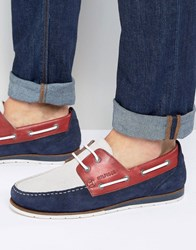 Tommy Hilfiger Coast Boat Shoes Navy