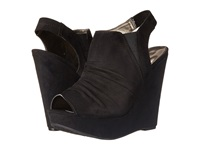 Carlos By Carlos Santana Britton Black Women's Wedge Shoes