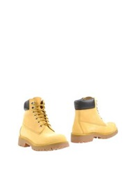 Michael Dass Ankle Boots Yellow