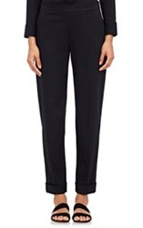 The Row Women's Culco Cuffed Pants Black Black Blue