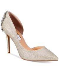 Inc International Concepts Women's Kesya Embellished D'orsay Pumps Only At Macy's Women's Shoes Champagne