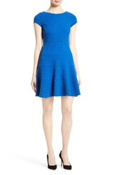 Rebecca Taylor Women's Stretch Knit Fit And Flare Dress