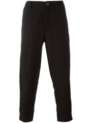Ziggy Chen Loose Fit Tailored Pants Black
