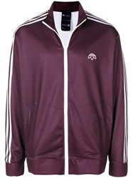 Adidas By Alexander Wang Originals Printed Track Jacket Pink And Purple