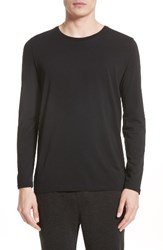 Atm Anthony Thomas Melillo Men's Cotton Crewneck Black