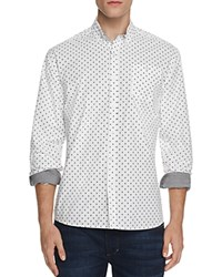 Artistry In Motion Ghost Print Slim Fit Button Down Shirt Compare At 62 White