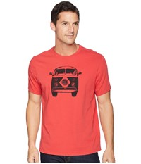 Life Is Good Retro Van Smooth Tee Americana Red T Shirt