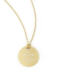 Star Of David Medallion Necklace Roberto Coin Gold