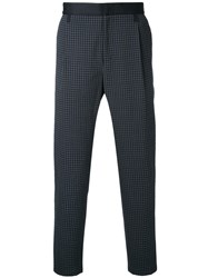 Factotum Tapered Trousers Men Polyester Polyurethane Wool 48 Brown