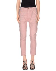 Meltin Pot Denim Denim Trousers Women Pink