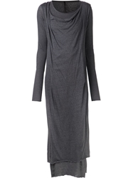 Barbara I Gongini 'Curro' Dress Grey