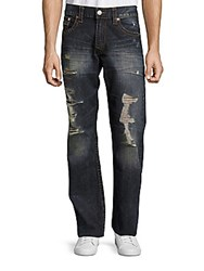 True Religion Distressed Cotton Jeans