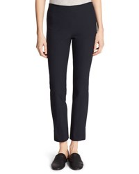 Vince Stitch Front Seam Leggings Blue