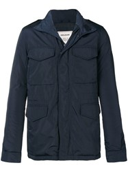 Zadig And Voltaire Zipped Up Waistcoat Blue