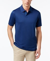 Tasso Elba Men's Polo Only At Macy's Navy On Blue