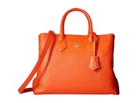 Vivienne Westwood Shopper Balmoral Orange Handbags
