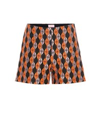 Giamba Jacquard Shorts Multicoloured