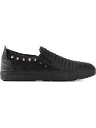 Philipp Plein Studded Slip On Sneakers