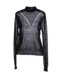 Only Knitwear Turtlenecks Women Black
