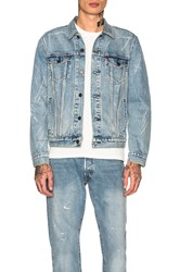 Levi's Premium Trucker Jacket Rolled Up Dollar