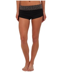 Tyr Sonoma Active Mini Swim Boyshort Black Women's Swimwear