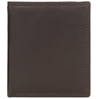 John Lewis Leather Card Holder Brown