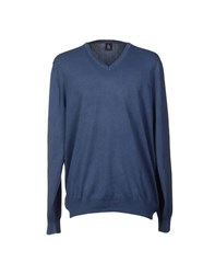 Marina Yachting Knitwear Jumpers Men Slate Blue