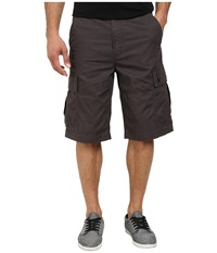 L R G Rc Classic Cargo Shorts 2 Dark Charcoal Men's Shorts Gray