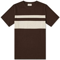 Oliver Spencer Conduit Tee Brown